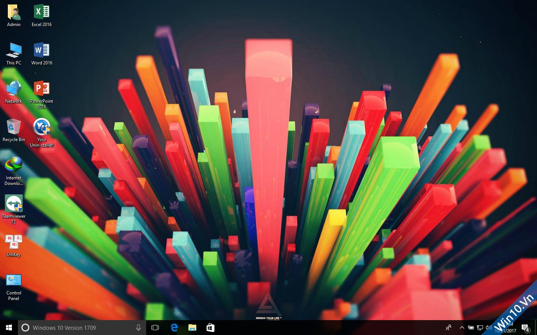 Ghost Windows 10 1709 Full Soft Full Driver 32bit/64bit by ThienIT 72