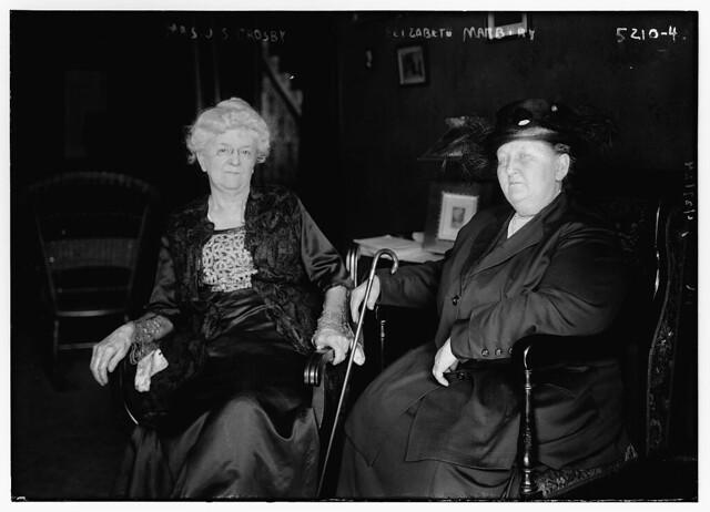 Mrs. J.S. Crosby & Elizabeth Marbury (LOC)