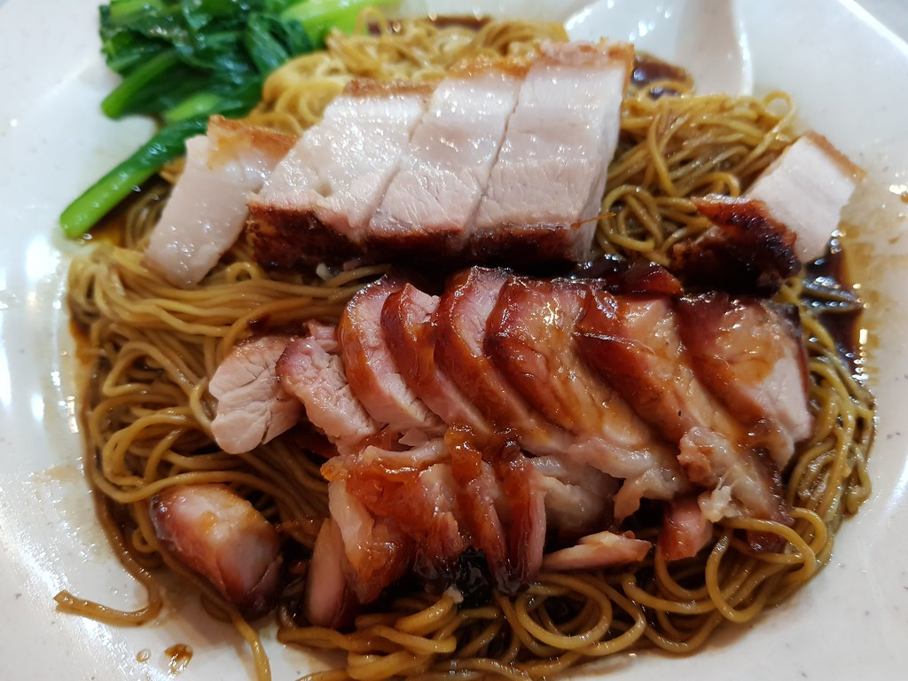 叉烧烧肉云吞面 BBQ & Roasted Pork Wan Ton Mee $8.90 @ 金記好好吃雲吞麵家 Good Taste Restaurant USJ 10