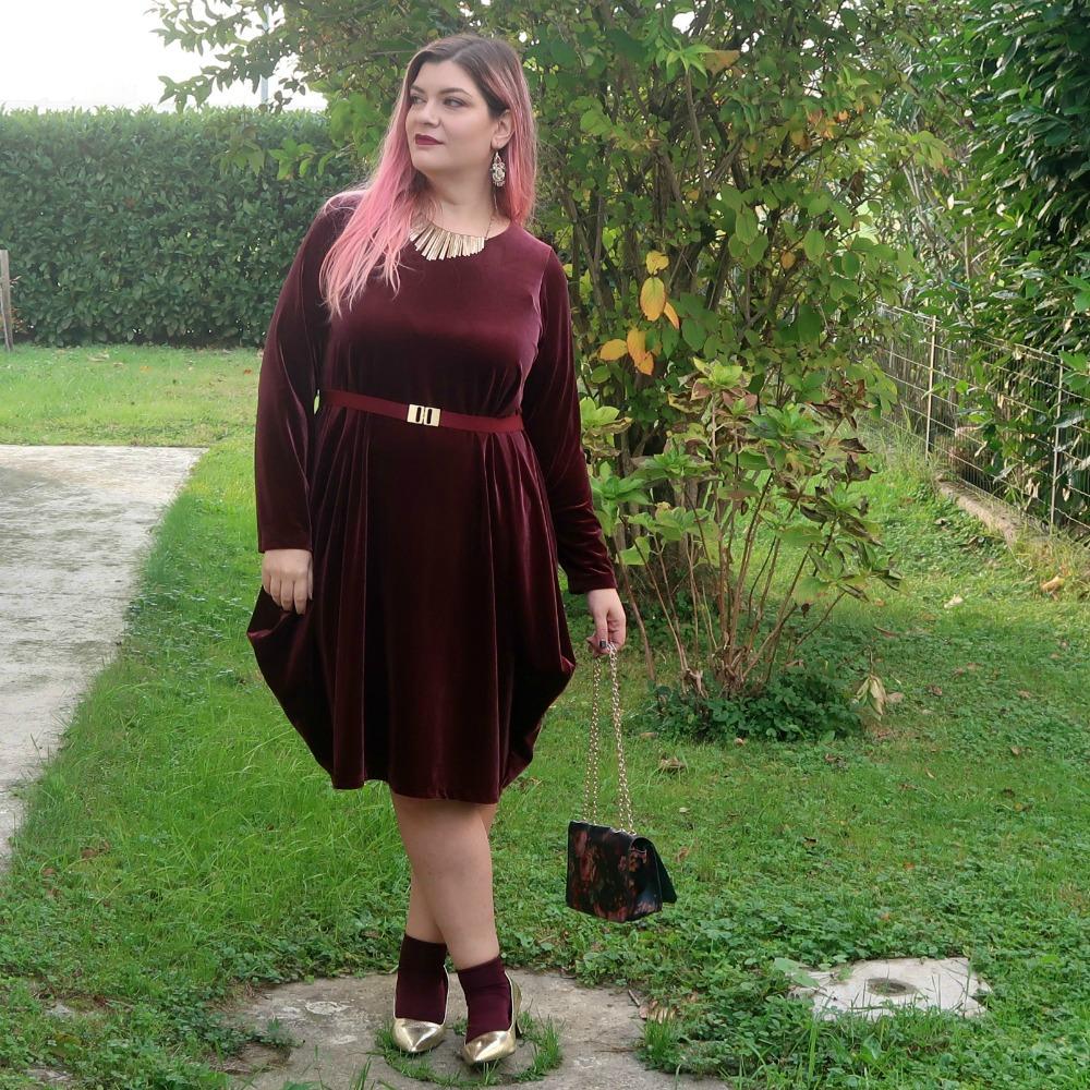 Outfit plus size abito itagliano (7)
