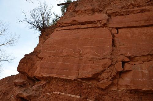 Palo Duro cliff swirliy