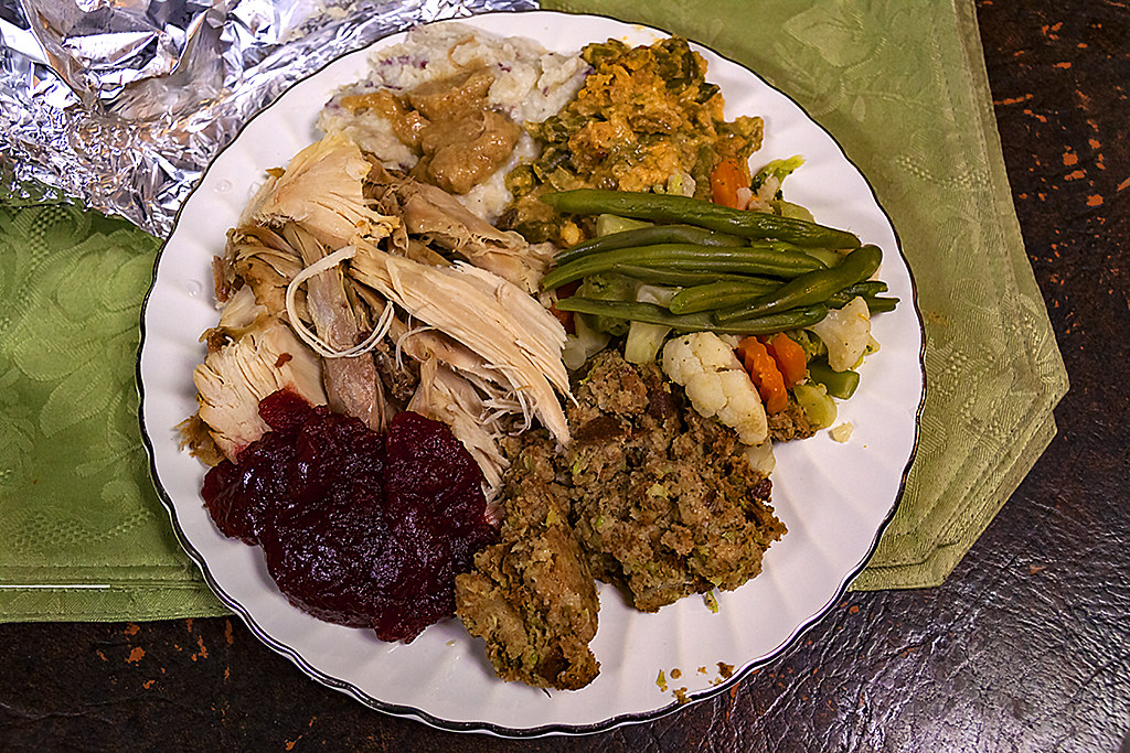 Thanksgiving dinner--Scranton 2