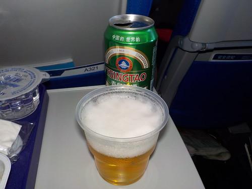恒例の青島ビール