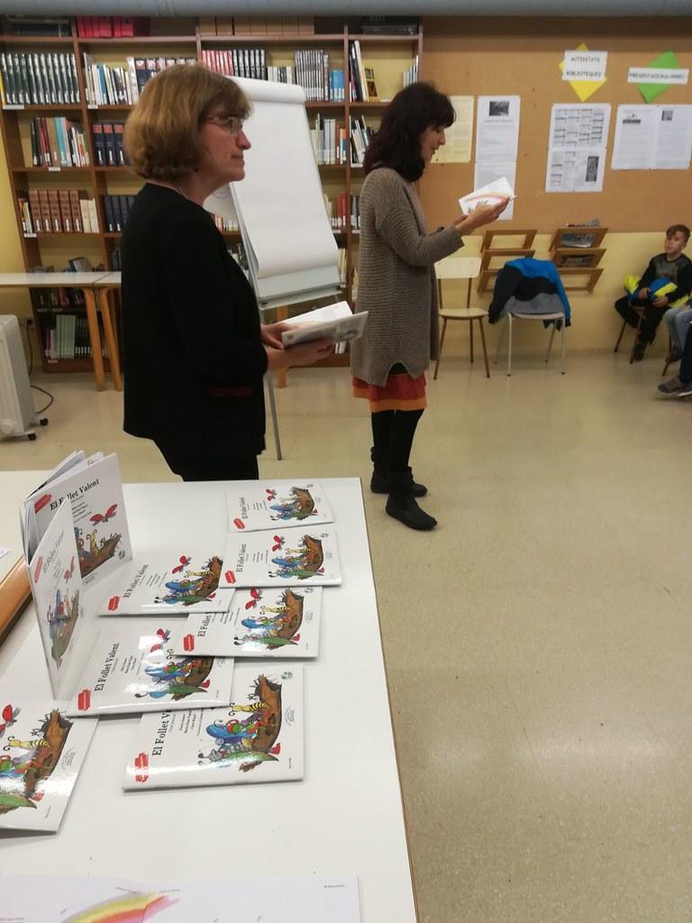 """Presentació del llibre """"El follet valent"""""""