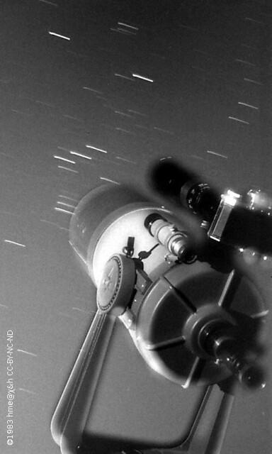 camera piggyback on telescope