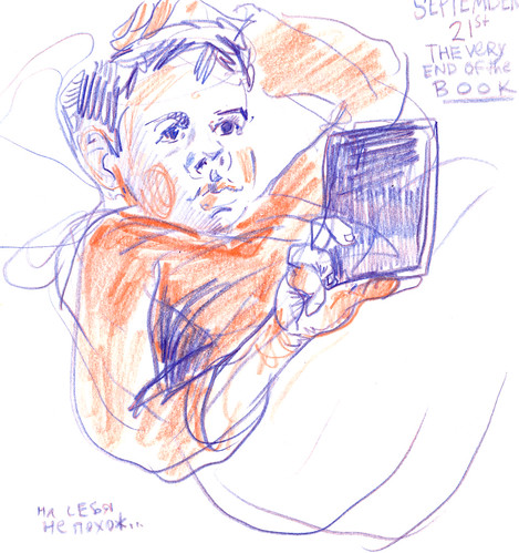 Sketchbook #108: Reading Times