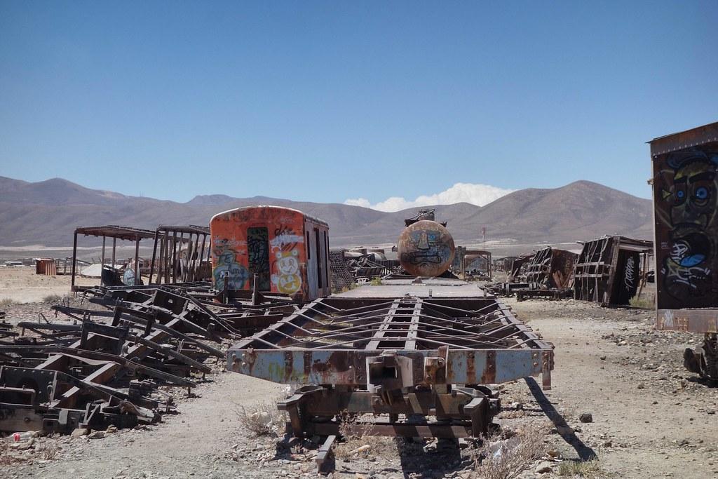 Uyuni - Cimetiere Trains 2