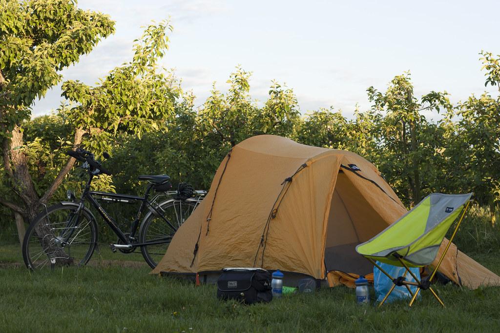 Bikepacking microadventure Limburg