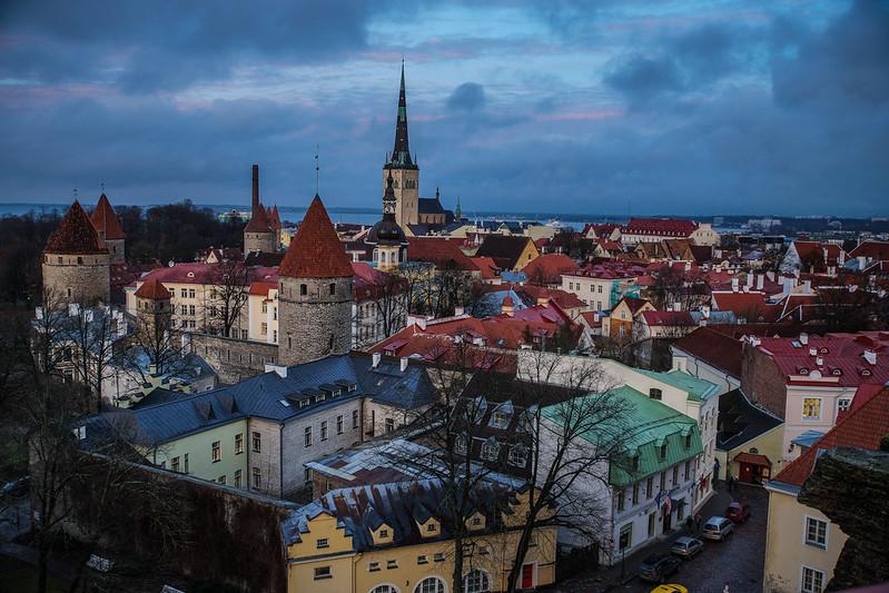 Patkuli vaateplatvorm Viro Eesti Estonia Tallinna Tallinn old town