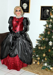 Christmas in a Fantasy Gown