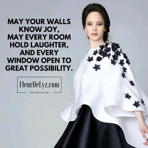 May Your Walls Know Joy.. | by FleurDeLyz