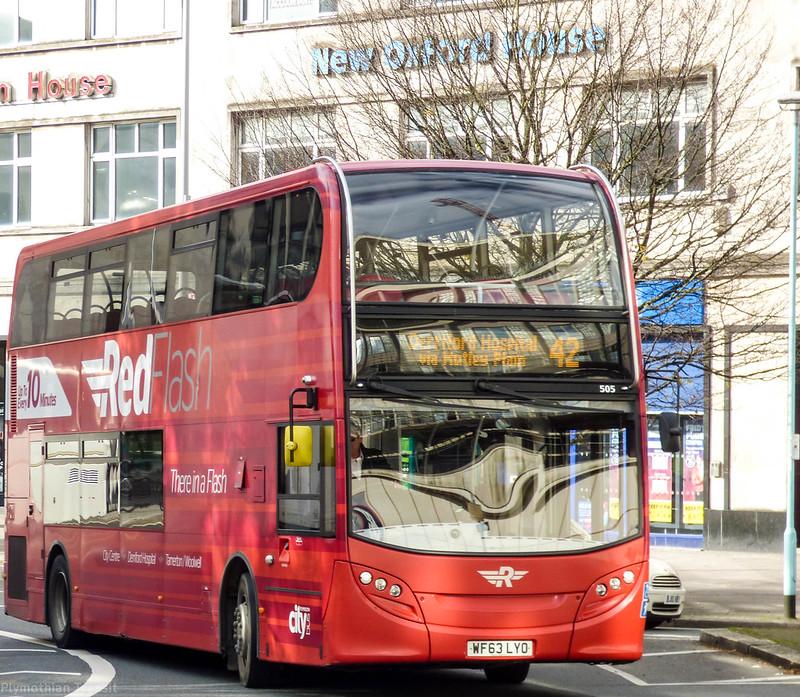 Plymouth Citybus 505 WF63LYO