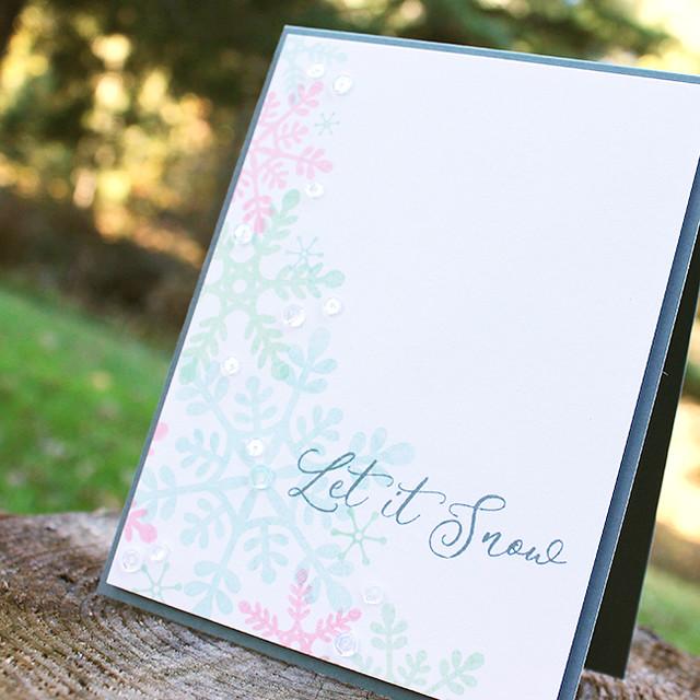 Let It Snow Card 3