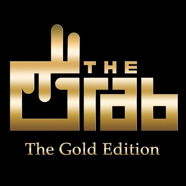 Grab Gold Ed Logo Black