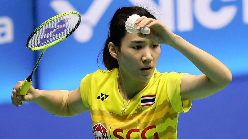 Nitchaon Jindapol, atlet bulu tangkis putri asal Thailand