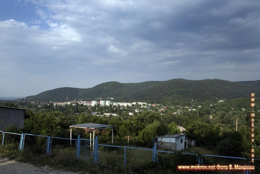 Город Архипо-Осиповка фотозарисовки.