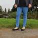 Skinny Blue Jeans by Unusual Stylings