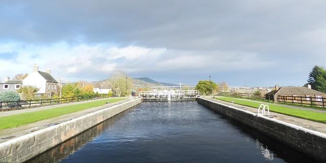 Muirtown Locks, Caledonian Canal, Inverness, Nov 2017