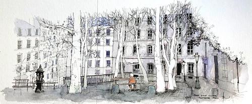 Place Emile Goudeau PARIS
