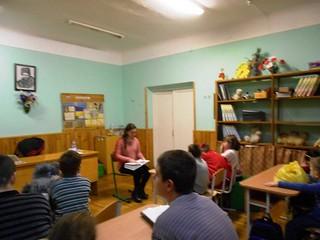 """проект """"Недільна читанка з Олесею"""". 03.12.17. ім. О. Грибоєдова"""