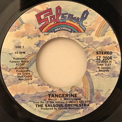 THE SALSOUL ORCHESTRA:TANGERINE(LABEL SIDE-A)