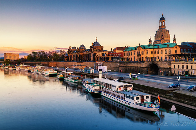 Golden hour @ Dresden