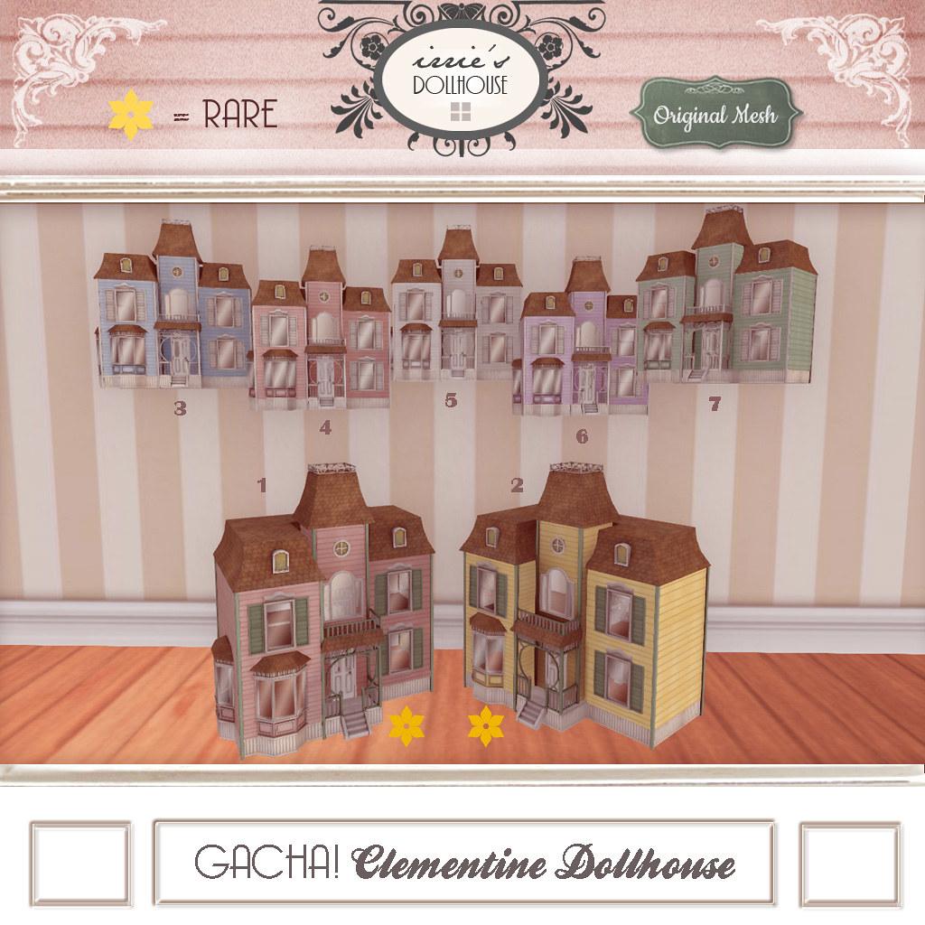 I { DH } Gacha! Clementine Dollhouse