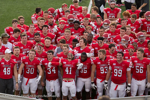 Cornell University Mens football team 2017