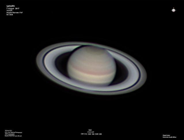 Saturn 07082017 1721UT RGB C Foster