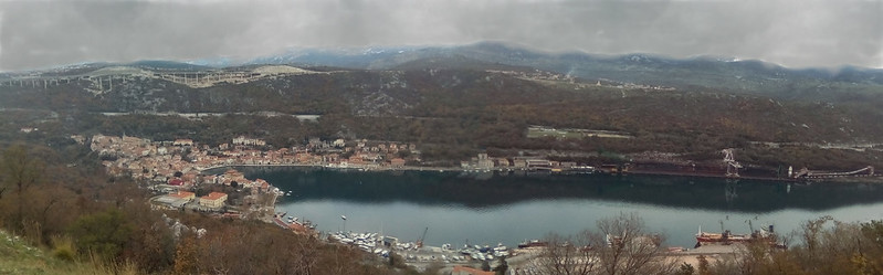 Bakar, panorama
