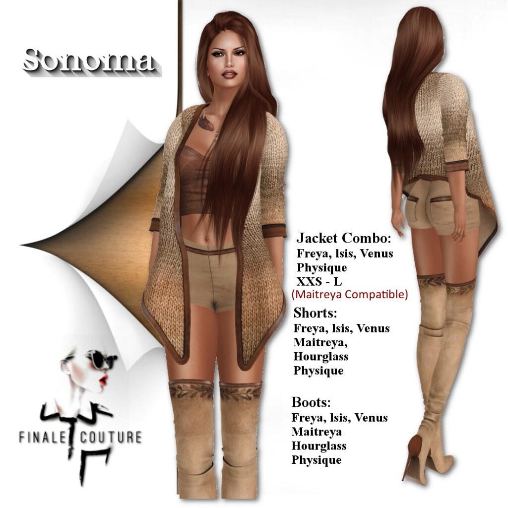 Finale Couture Sonoma Poster