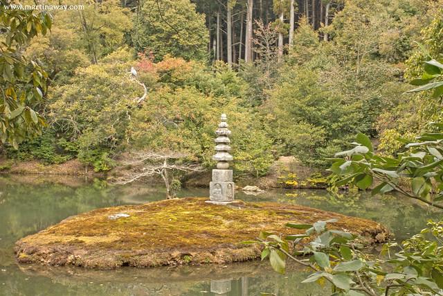 White snake Kinkaku-ji, Padiglione d'Oro
