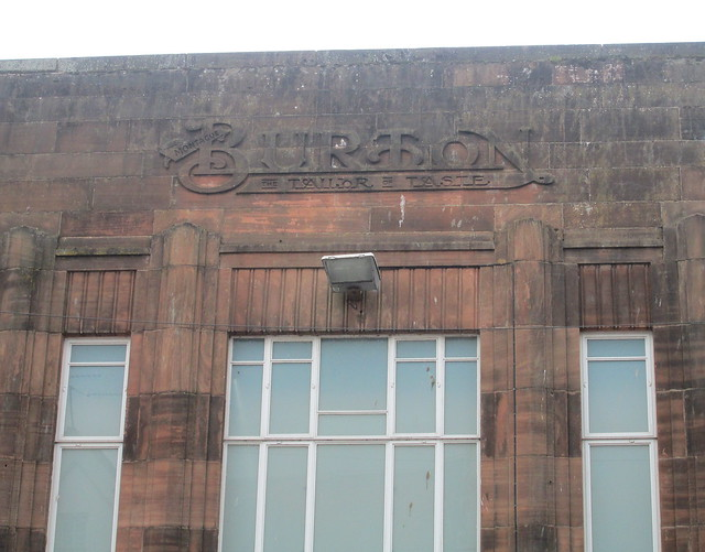 Burton's, Dumfries, Detail