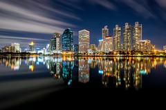 Dusk scence of Bangkok Panorama
