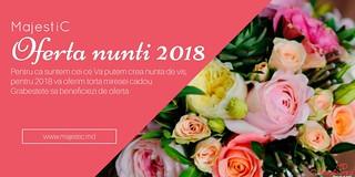 "Restaurant ""MajestiC"" Oferta Nuntii  2018."