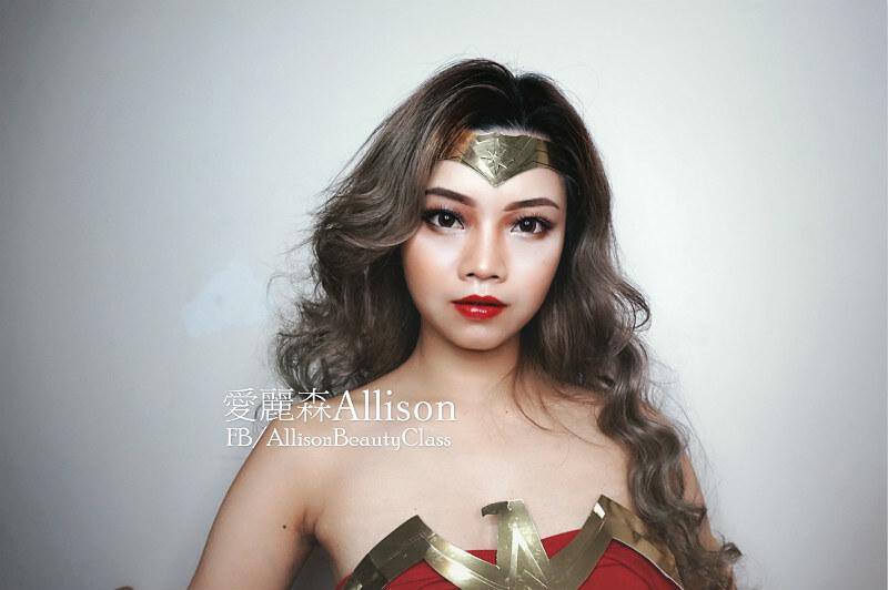 2017DC超級英雄正義聯盟Justice League Wonder Woman神力女超人仿妝