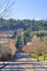 Olympic Mountains view from Bothell