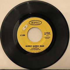 DONOVAN:HURDY GURDY MAN(RECORD SIDE-A)