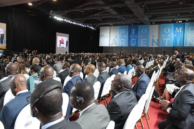 Conferencia Ministerial OMC Buenos Aires, sesión inaugural
