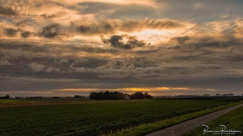 Last October Sunrise