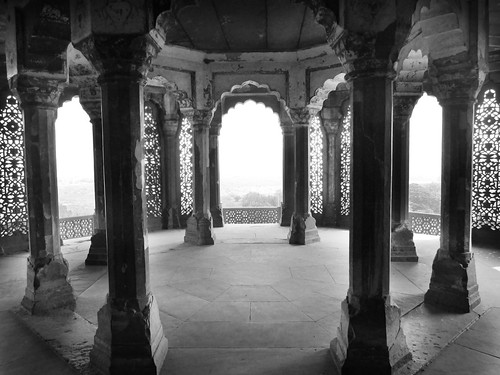 Amber Red Fort Interior and Columns, India, photography by Sherrie Thai of Shaireproductions.com