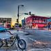 Vintage Venice Motorcycle Sunset! Elliot McGucken Fine Art! by 45SURF Hero's Odyssey Mythology Landscapes & Godde