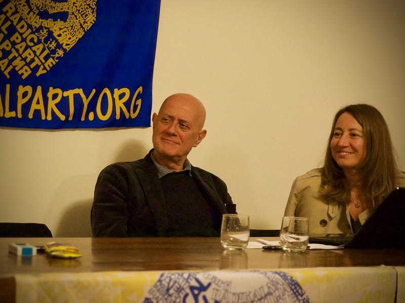 Sergio D'Elia ed Elisabetta Zamparutti