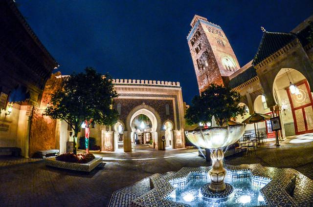 Morocco full pavilion Epcot