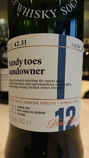 SMWS 42.31 - Sandy toes sundowner