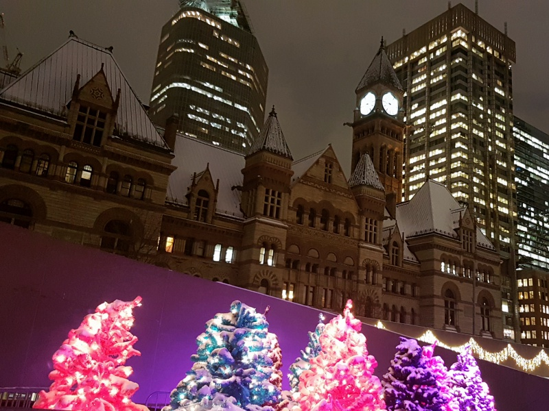 City Hall Christmas Toronto