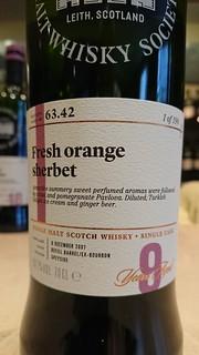 SMWS 63.42 - Fresh orange sherbet