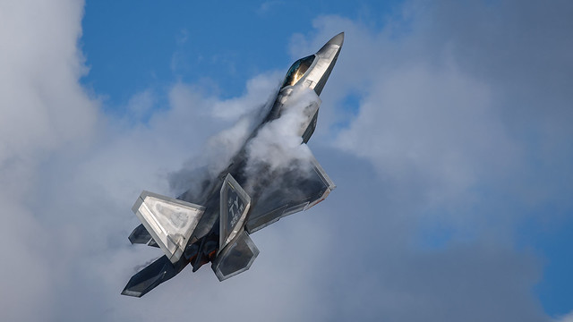 F-22 Raptor Flight Demonstration