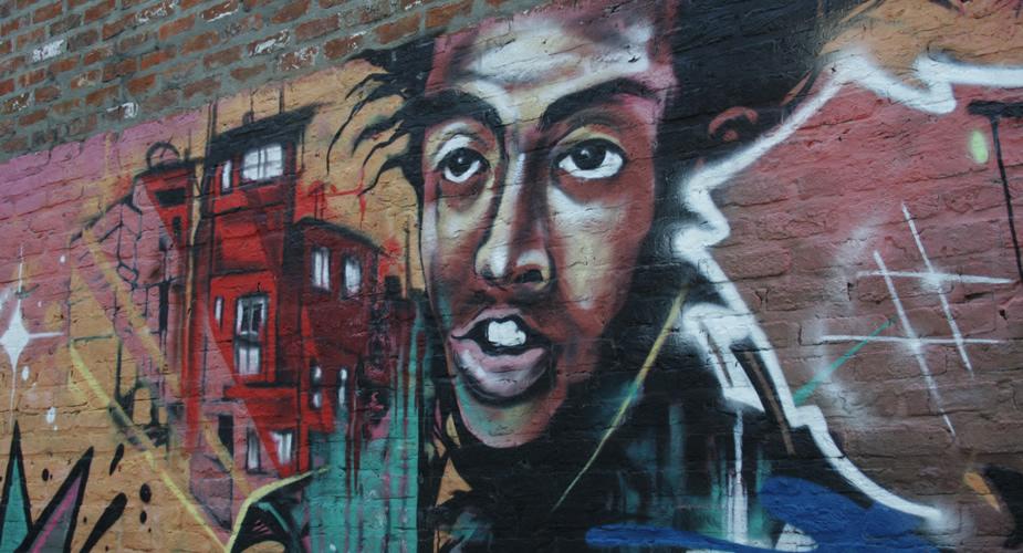 Streetart in Antwerpen: Borgerhout | Mooistestedentrips.nl