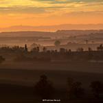 17. November 2017 - 9:15 - Lever de soleil sur la campagne gersoise.